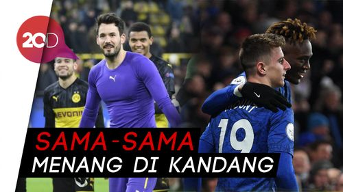 Sama-sama Menang, Chelsea dan Dortmund Kunci Tiket 16 Besar