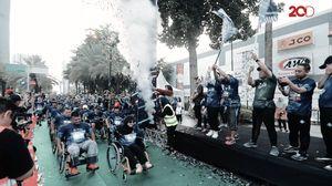 BPJAMSOSTEK Pecahkan Rekor Muri Marathon Terbanyak Kaum Difabel