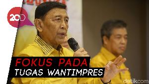 Wiranto: Saya Nyatakan Mundur dari Ketua Dewan Pembina Hanura!