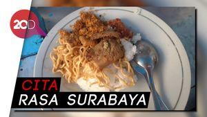 Enaknya Olahan Serundeng Belanda dan Cumi Hitam dari Surabaya