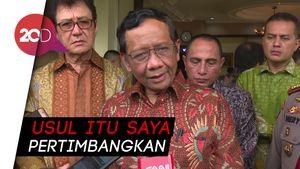 Diminta Hendropriyono Bantu TNI Tuntaskan OPM, Mahfud: Kita Tampung