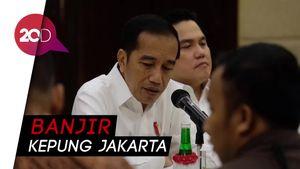 Bandara Halim dan Ruas Tol Kebanjiran, Jokowi Minta Normalisasi