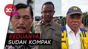 Soal Banjir, Luhut Minta Basuki-Anies Jangan Ditubrukkan!