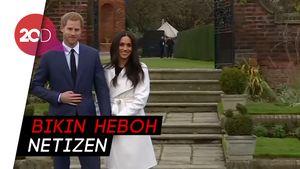 Netizen Komentari Keputusan Harry-Meghan Mundur dari Kerajaan