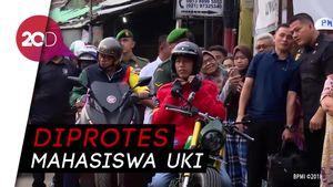 Ini Momen Jokowi Tak Nyalakan Lampu Motor yang Dipertanyakan Eliadi