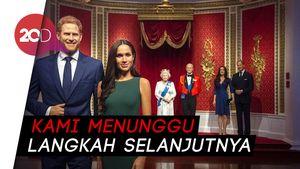 Tak Lagi Jadi Keluarga Kerajaan, Patung Lilin Meghan-Harry Dipindah