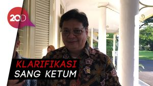 JK Tanpa Posisi di Golkar, Airlangga: Beliau Menugaskan