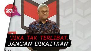 KPU Jawab Sindiran Johan Budi soal OTT Wahyu