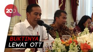 Jokowi Tepis UU Baru KPK Melemahkan
