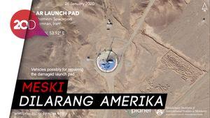 Diam-diam Iran Akan Terbangkan Satelit Ruang Angkasa
