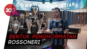 Inter Milan Perkenalkan Christian Eriksen