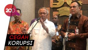 Pimpinan KPK Sambangi Kantor Menteri PUPR, Ada Apa?