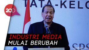 Hari Pers Nasional, CT Bicara soal Tantangan Industri Media