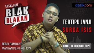 Tonton Blak-blakan Mantan Pengikut ISIS: Tertipu Janji Surga ISIS