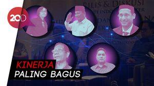 Prabowo Jadi Menteri Paling Populer Versi Survei Indo Barometer