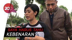 Isak Tangis Karen Pooroe Hadiri Proses Autopsi Sang Anak