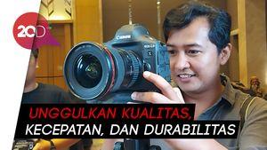 Canon Boyong Kamera Flagship, Harganya Bisa Buat DP Rumah
