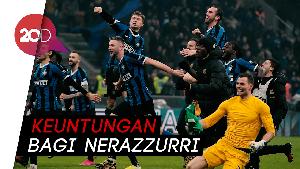 Ludogorets Vs Inter, Dua Gol Tanpa Balas dari Nerazzurri