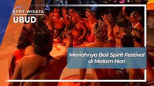 Bali Spirit Festival di Malam Hari, Ubud