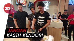 Momen Lucu Chef Arnold Nyuruh Anak Presiden Masak