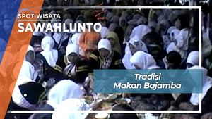Tradisi Makan Bajamba Sawahlunto Sumatera Barat