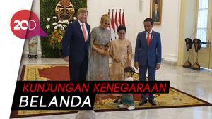 Sambut Raja dan Ratu Belanda, Jokowi Kenalkan Sedah Mirah
