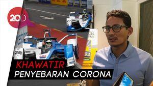 Anies Tunda Formula E Gegara Corona, Sandi: Keputusan Tepat