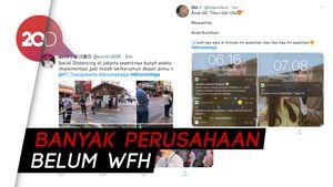 Jadi Trending di Twitter, Netizen Cerita soal #dirumahaja Hari Ini