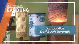 Lampu Hias Dari Buah Berenuk, Bandung