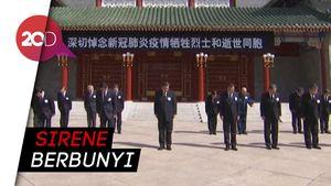 China Heningkan Cipta Beri Penghormatan bagi Korban Meninggal Corona