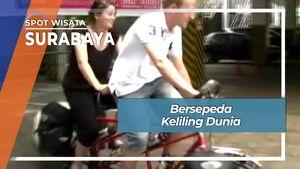 Bersepeda Keliling Dunia, Surabaya