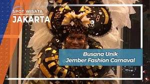Busana Unik Jember Fashion Carnaval, Jakarta