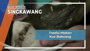 Tradisi Makan Kue Bakcang Singkawang