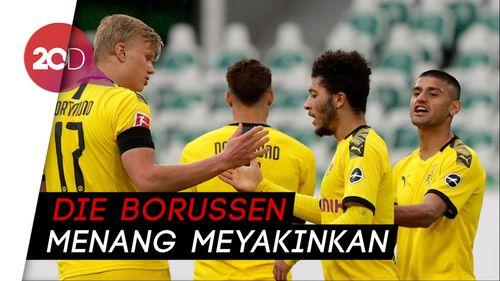 Dortmund Sukses Tundukkan Wolfsburg 2-0