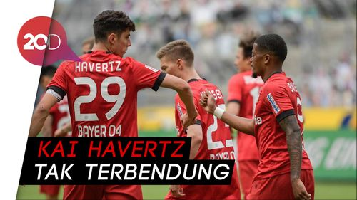 Kai Havertz 2 Gol, Leverkusen Bekuk Moenchengladbach 3-1