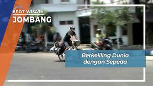 Bersepeda Keliling Dunia Melalui Jombang Jawa Timur