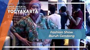 Fashion Show Buruh Gendong, Yogyakarta