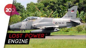 Pilot Laporkan Keanehan Mesin hingga Lost Power Sebelum Jatuh