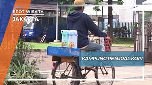 Kampung Penjual Kopi Keliling Jakarta