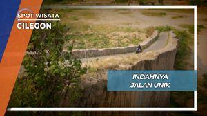 Jalan Sempit Unik Lebak Banten