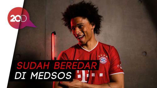 Duh, Foto Sane Berseragam Bayern Bocor, Die Roten Minta Maaf