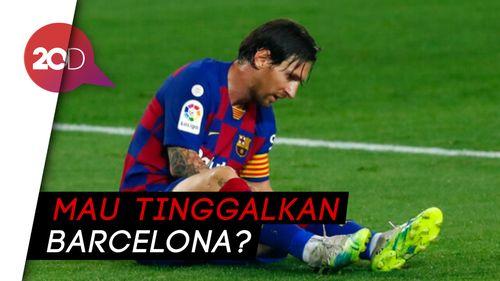 Messi Enggan Teken Kontrak Baru, Kenapa?