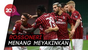 Milan Bantai Bologna 5-1 di San Siro
