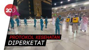 Rombongan Calon Jemaah Haji Mulai Berdatangan ke Mekah