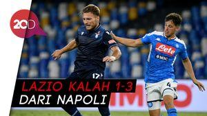 Kalah dari Napoli, Lazio Harus Puas Keempat