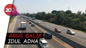 Minggu Pagi, Lalin di Tol Jakarta-Cikampek Ramai Lancar
