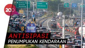 Sistem One Way, Arus Lalin Puncak Menuju Jakarta Ramai Lancar