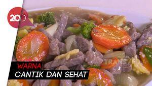 Masak Masak: Tumis Daging Sapi dengan Sayur Wortel Brokoli