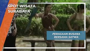 Satwa Unik Surabaya, Peagaan Busana Bersama Hewan