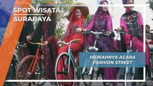 Pertunjukan Seni Budaya Fashion Street, Surabaya